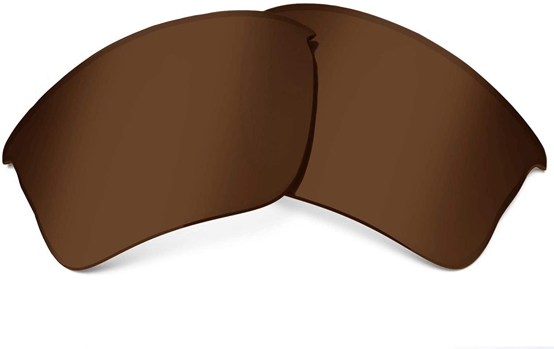 SeekOptics Replacement Lenses Compatible with Oakley Flak Jacket XLJ Sunglasses