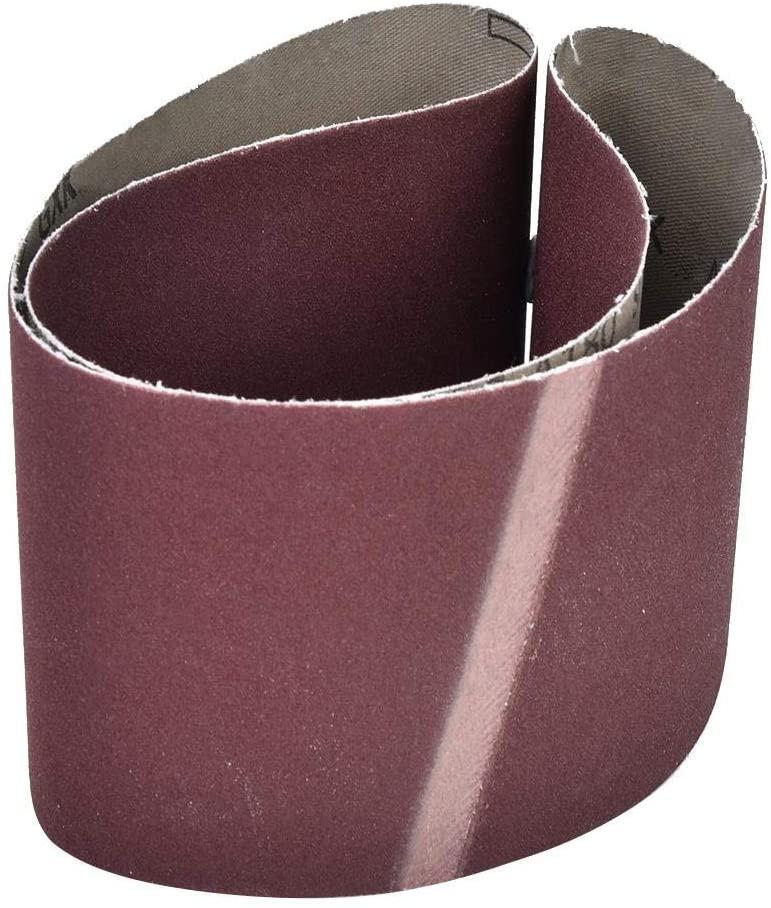 Sanding belt, aluminum oxide woodworking sanding belt, for grinding machines and furniture applications(150 mesh)