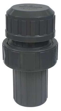 Vacuum Breaker, 1/2 In, FNPT, PVC, 150 psi