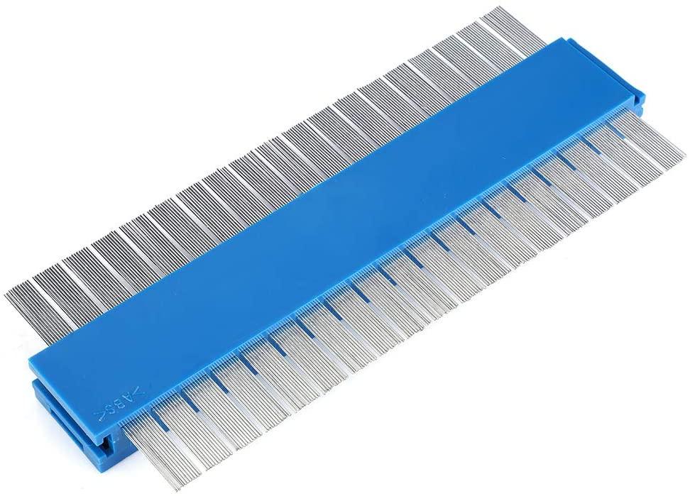 Metal Contour Gauge, Contour Profile Gauge, 2 In 1 Indispensable 2200Mm Metal For Tile, Floor, Carpet, Woodworking And Diy Diy Handyman, Construction