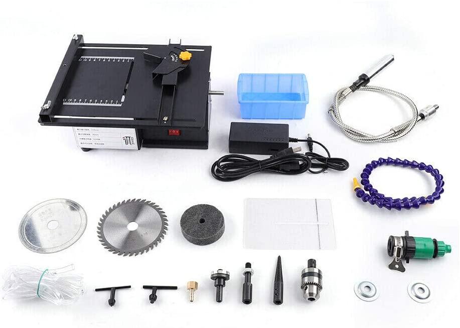 Jewelry Jade Polishing Machine 7-Speed Bench Grinder Jade Gem Grinding Machine