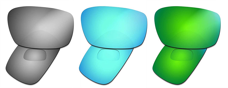 Prizo Polarized Replacement Lenses for Oakley Crankshaft Sunglasses - Multi Options