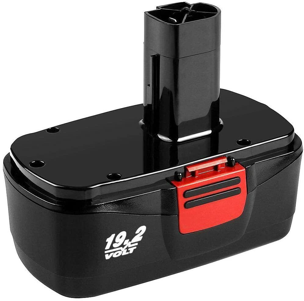 3.6Ah 19.2v Battery for Craftsman 19.2 Volt Battery C3 130279005 130279003 130279017 315.113753 315.115410 315.11485 1323903 1323517 11375 11376