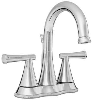 PROFLO PFWSC2840CP PROFLO PFWSC2840 1.2 GPM Centerset Bathroom Faucet - Includes Brass Pop-Up Drain Assembly