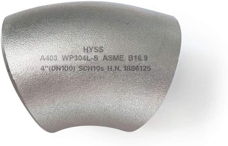 Stainless Steel Pipe Fittings 45° Long Radius Welding Elbow ASME B16.9 NPS(DN):4
