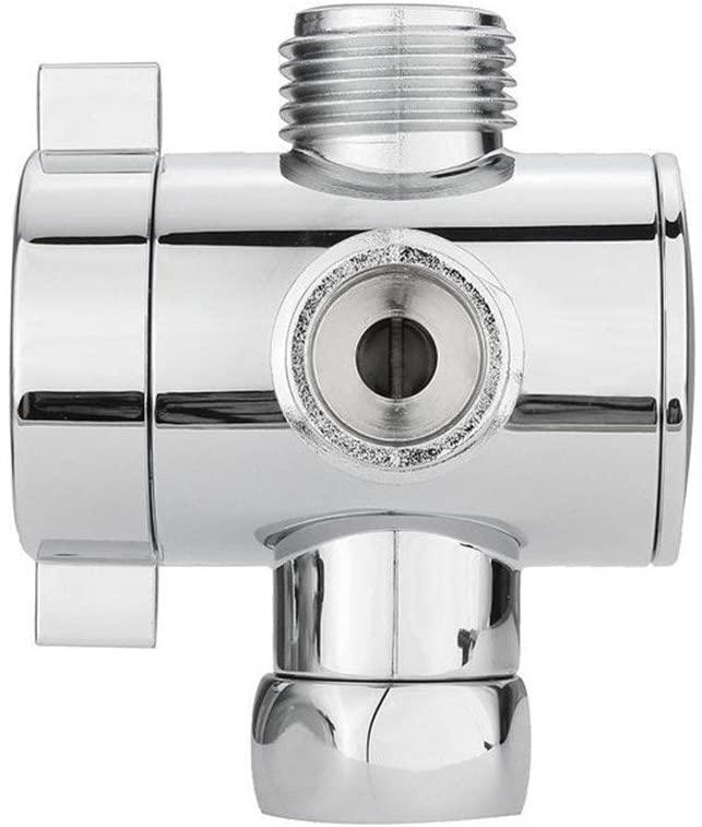 A Socket 1/2 Inch Three Way T-Adapter Valve for Toilet Bidet Shower Head Diverter Valve Home & Garden Bathroom Products