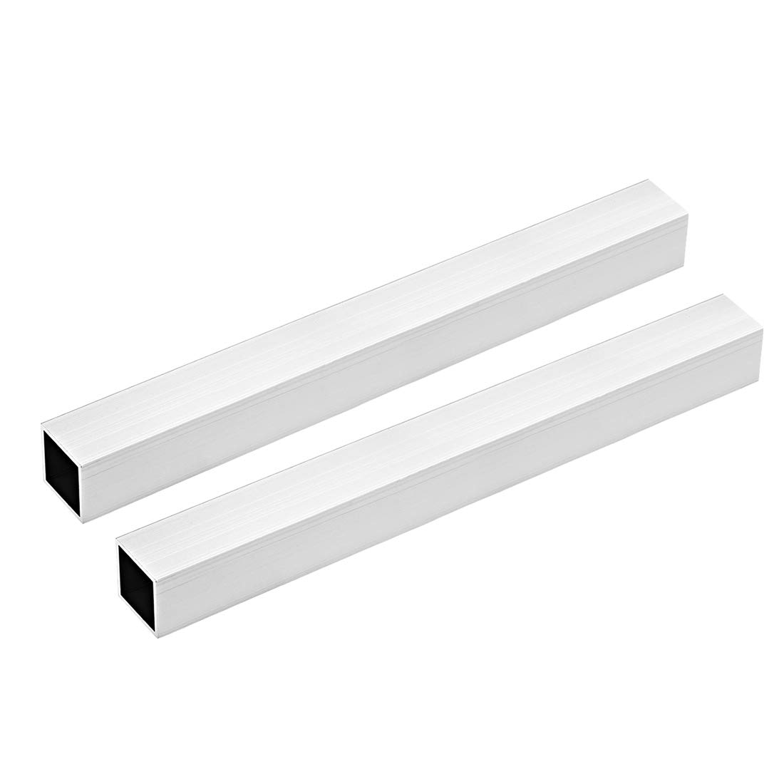 uxcell 6063 Aluminum Square Tube, 30mmx30mmx1mm Wall Thickness 300mm Length Seamless Straight Pipe Tubing 2 Pcs