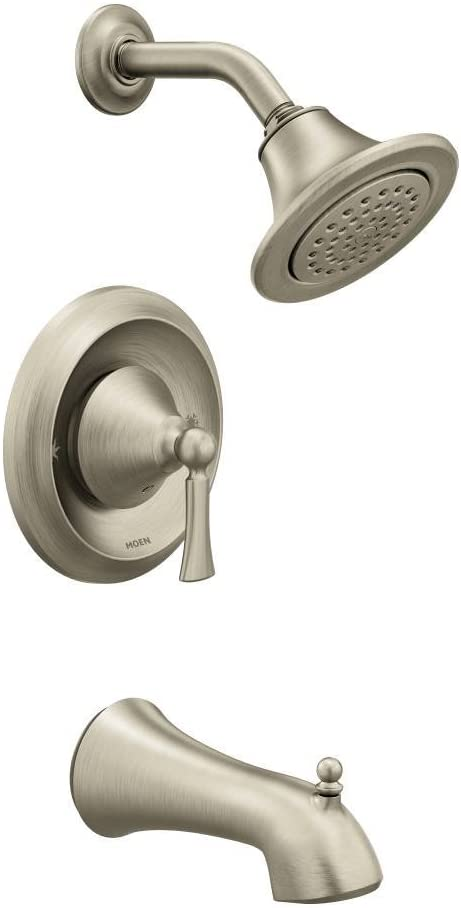 Wynford T4503BN Posi-Temp Tub and Shower Trim Kit, Valve Required, Brushed Nickel