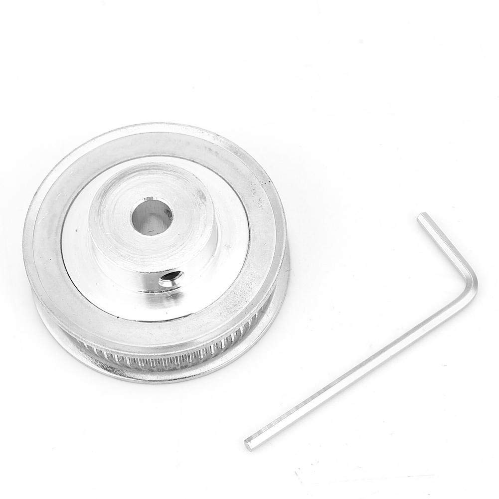 Timing Pulley, 2GT 60 Teeth Timing Pulley Bore 5/6.35/8/10/12mm for 6mm Wide Timing Belt Suitable for 6mm Wide Timing Belt(8mm)