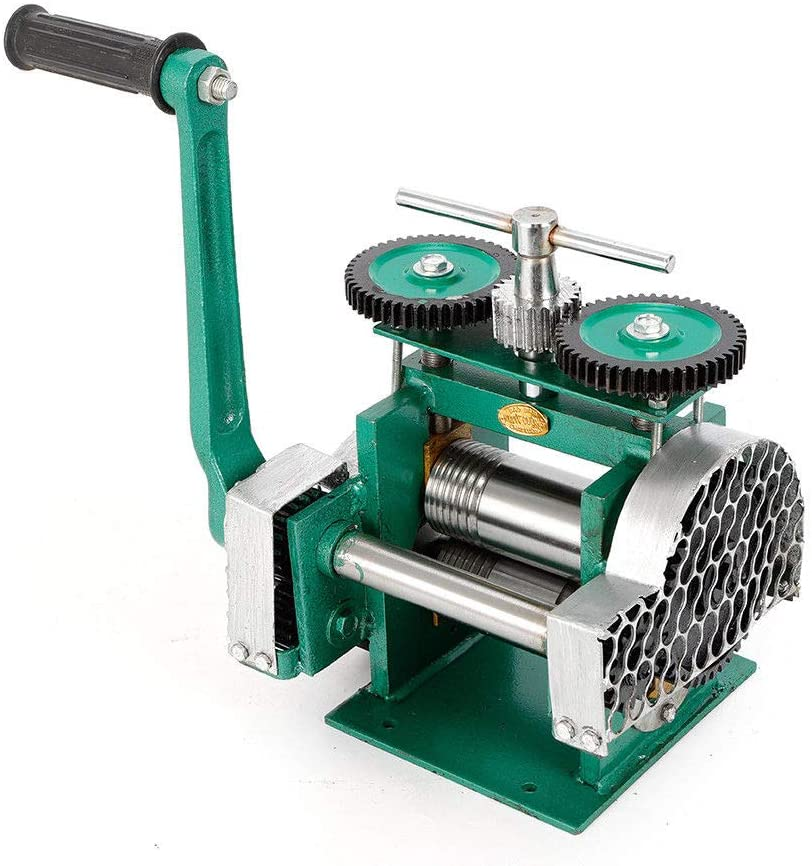 Manual Combination Rolling Mill Jewelry Press Tabletting Tool Machine 85mm