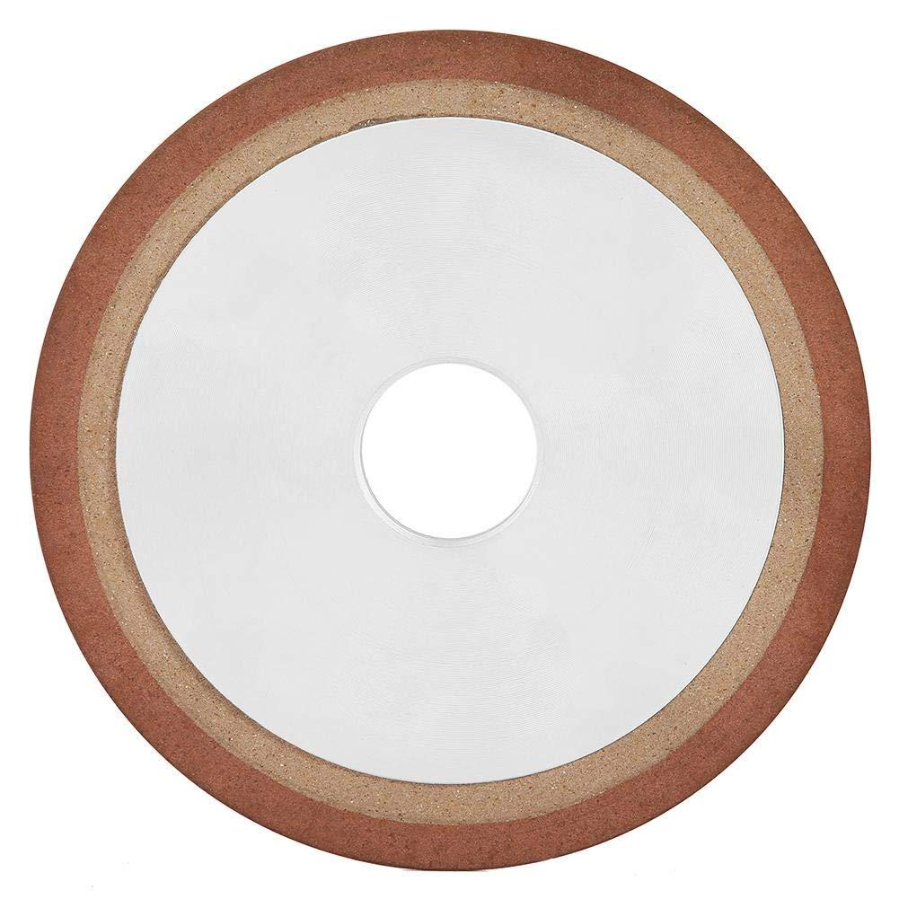 Diamond Grinding Wheel, 150mm Round Diamond Grinding Cup Wheel Grinder Disc Cutter Tool Grit 150 Salt Grinder Diamond Grinding Disc