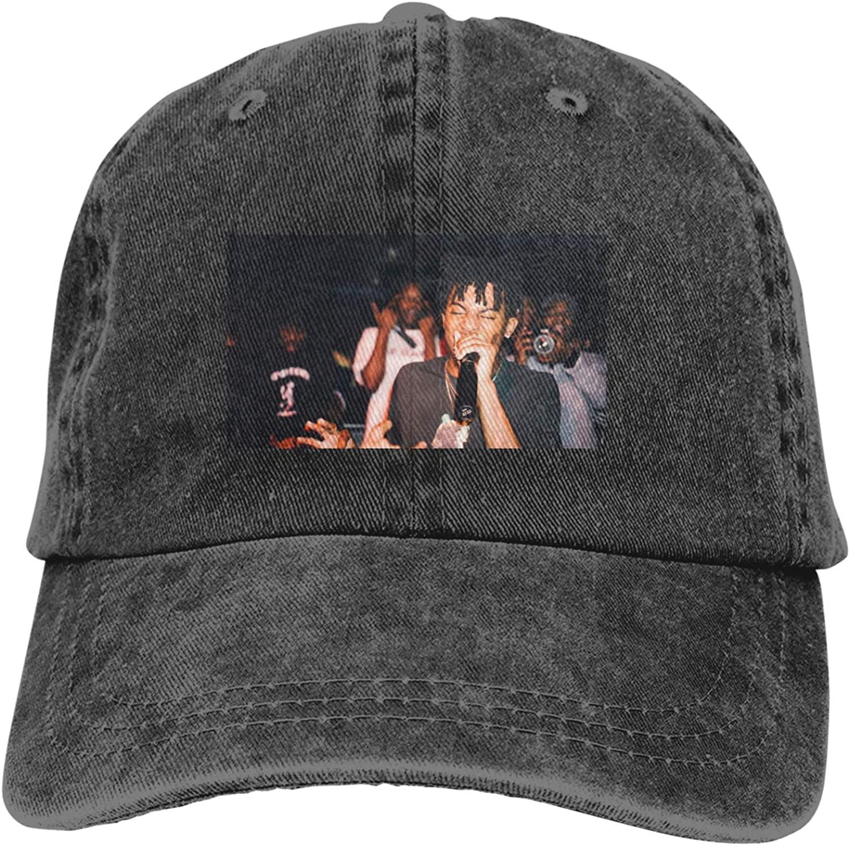 Playboi Carti Unisex Fashion Outdoor Baseball Cap Cowboy Cap Adjustable Sandwich Hat Casquette