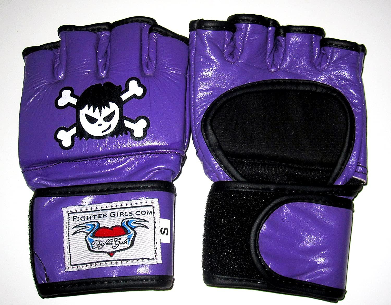 Fighter girls Purple MMA Gloves for Women