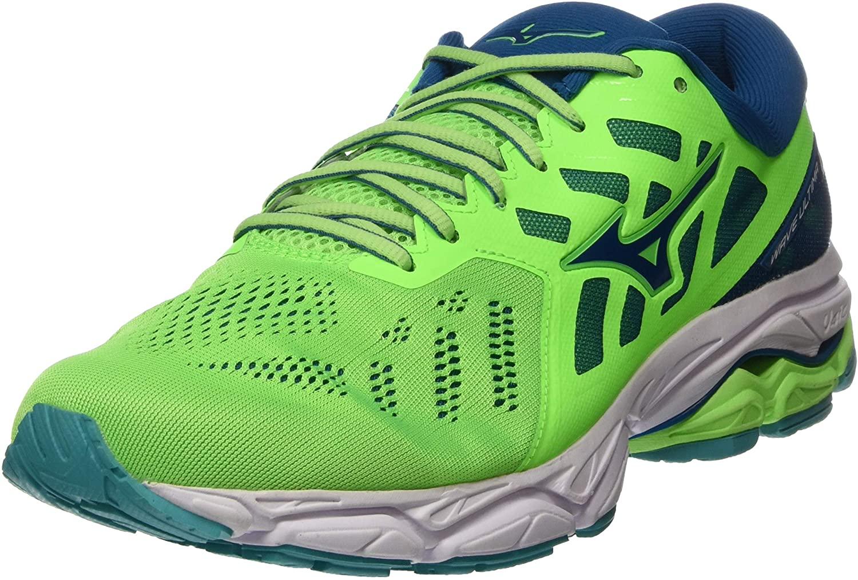 Mizuno Men's Running Shoes, Green Gecko Blue Sapphire Wht 16
