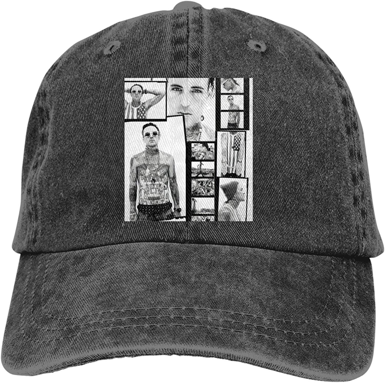 Yelawolf Unisex Fashion Outdoor Baseball Cap Cowboy Cap Adjustable Sandwich Hat Casquette