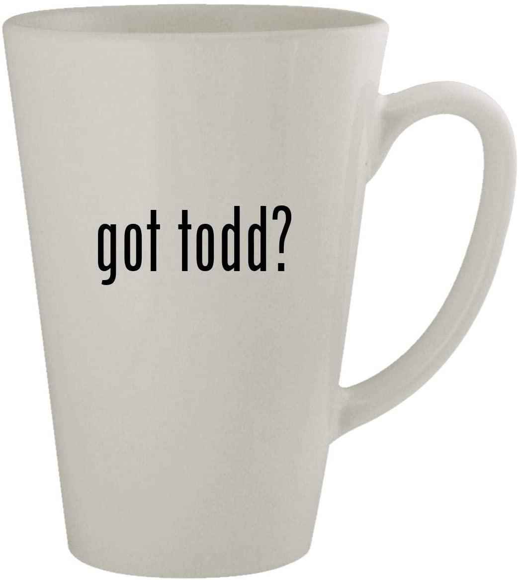 got todd? - 17oz Latte Coffee Mug Cup