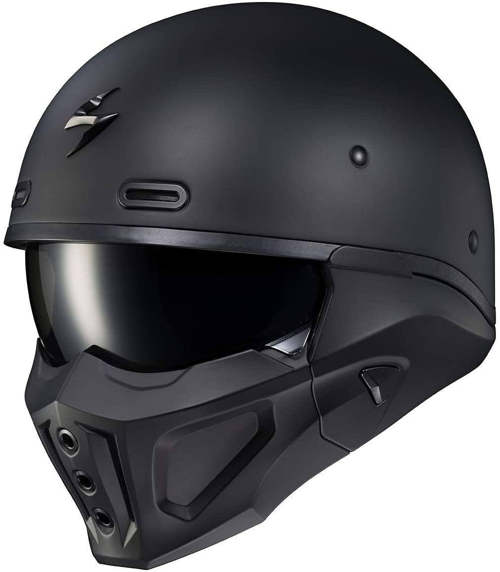 Scorpion Covert X Helmet (Medium) (Matte Black)