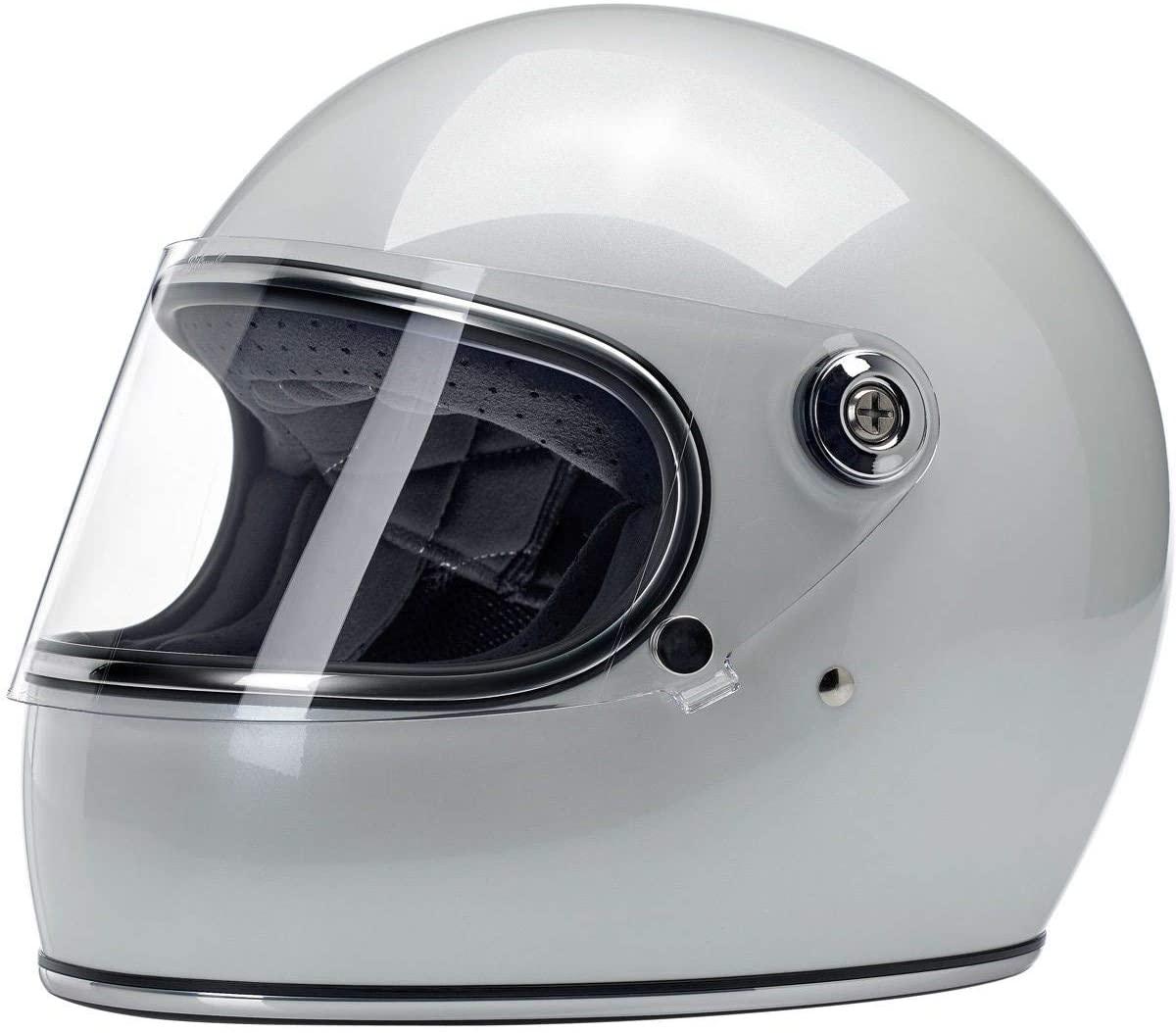 Biltwell Gringo S Helmet (Metallic Pearl White)