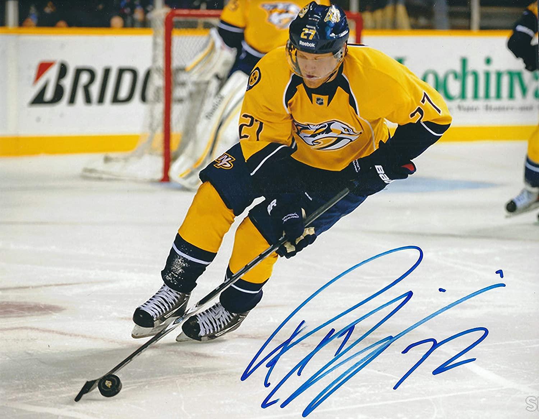 Autographed Patric Hornqvist 8x10 Nashville Predators Photo