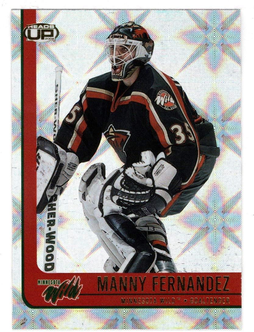 Manny Fernandez - Minnesota Wild (Hockey Card) 2001-02 Pacific Heads Up # 48 Mint