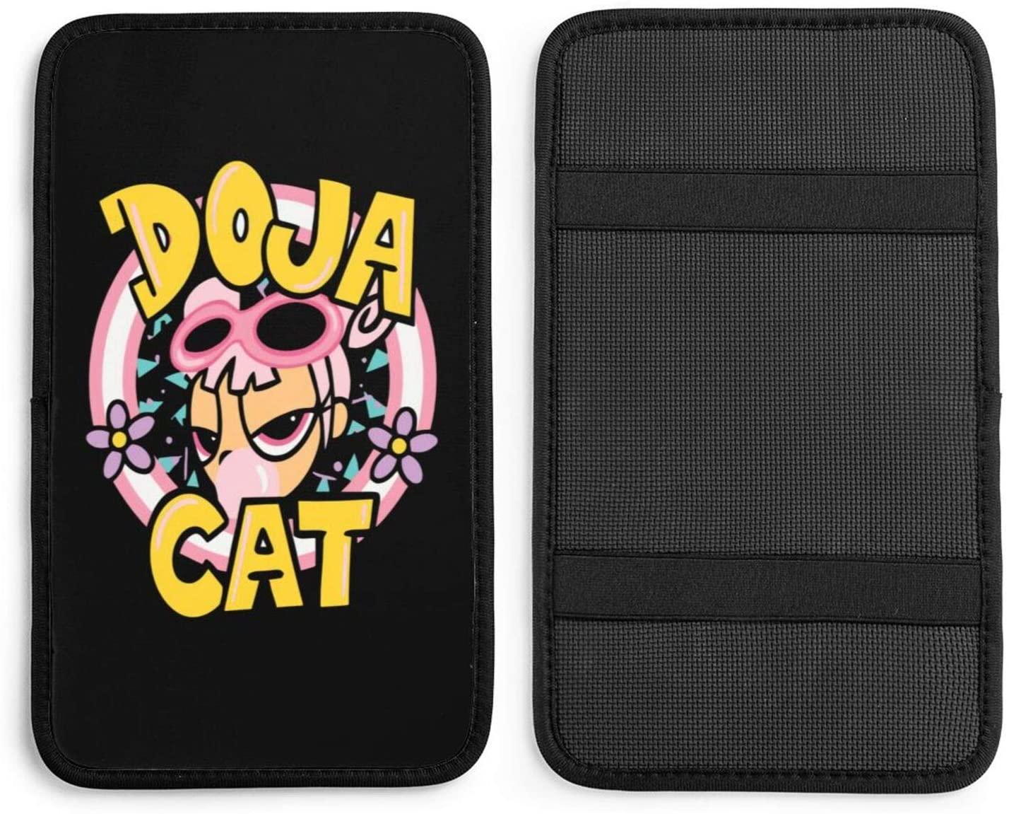 Doja Cat - Say So Lollipop Handrail Box Pad Car Center Console Box Arm Rest Pads Cushion Protector Universal Cover Armrest Decor