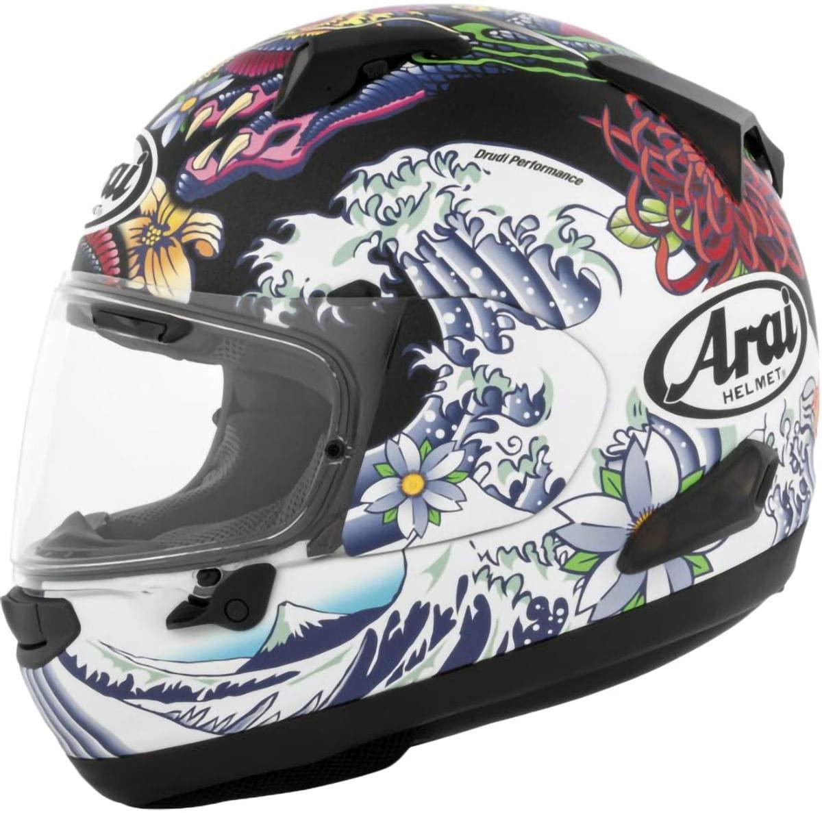 Arai Quantum X Helmet - Oriental (Large) (Frost Black)