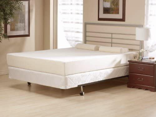 Orthosleep Products 11 Inch Flipable Double Sided Memory Foam & High Density Foam Mattress Size Twin XL