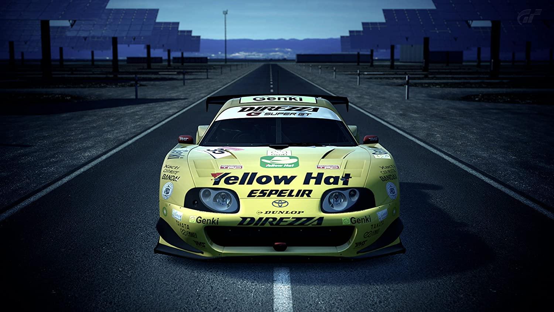 Gran Turismo 6 Wall Decoration,Video Game Watercolor Print,Car Artwork,Race Poster Print,Toyota Art Print Size 24x32 (61x81 cm)