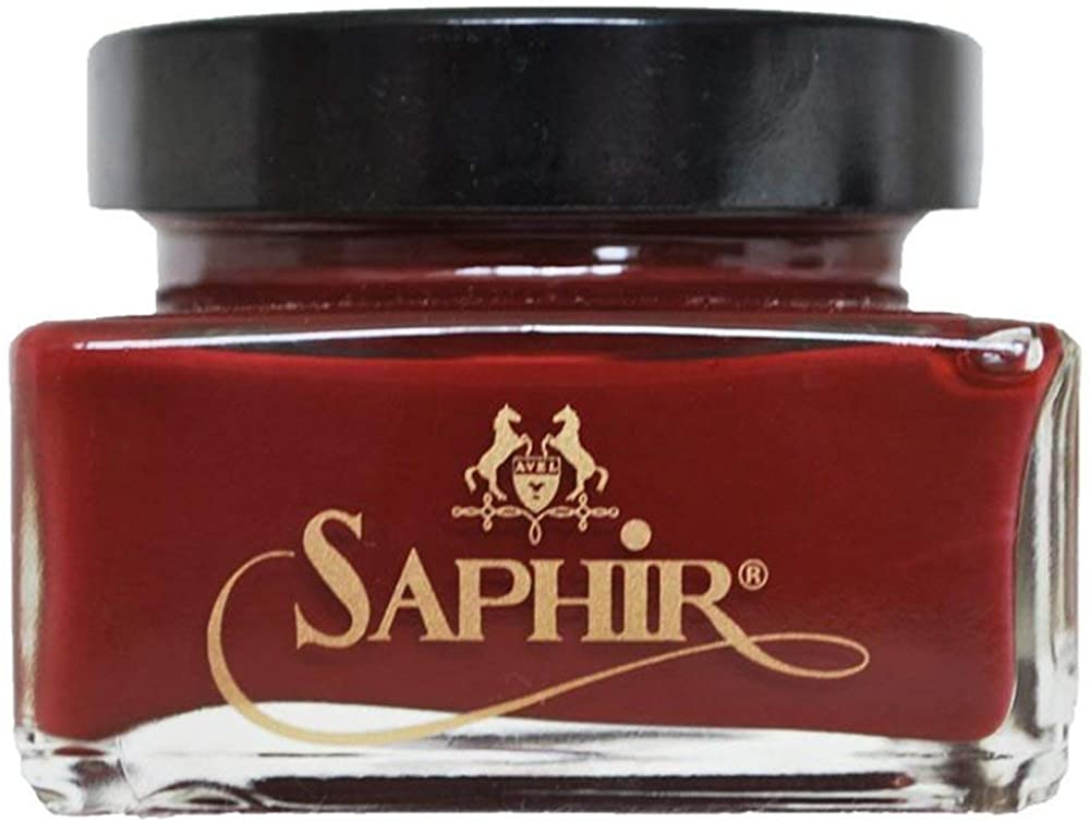 Saphir Médaille d'Or Pommadier Cream 75ml - Suitable for all leather shoes and boots