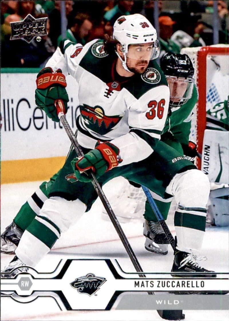 2019-20 Upper Deck #374 Mats Zuccarello Minnesota Wild Hockey Card