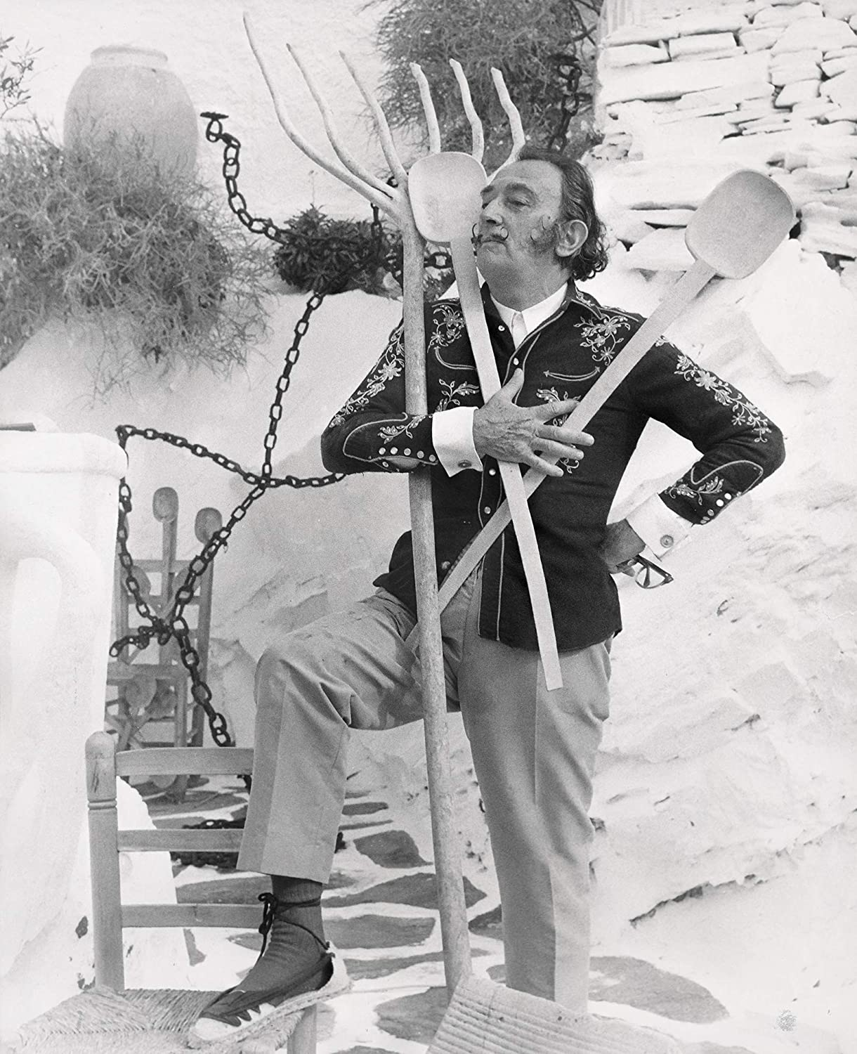 Celebrity Vault Salvador Dali: Surrealist in Real Life, an Archival Print - 24