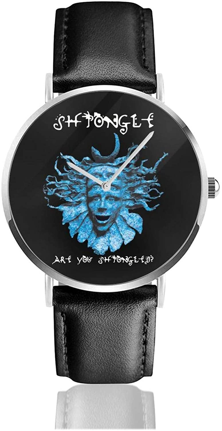 Zhaohui Shpongle are You Shpongled Leather Watch Woman 2020 2020 Latest Inspiration Design Man