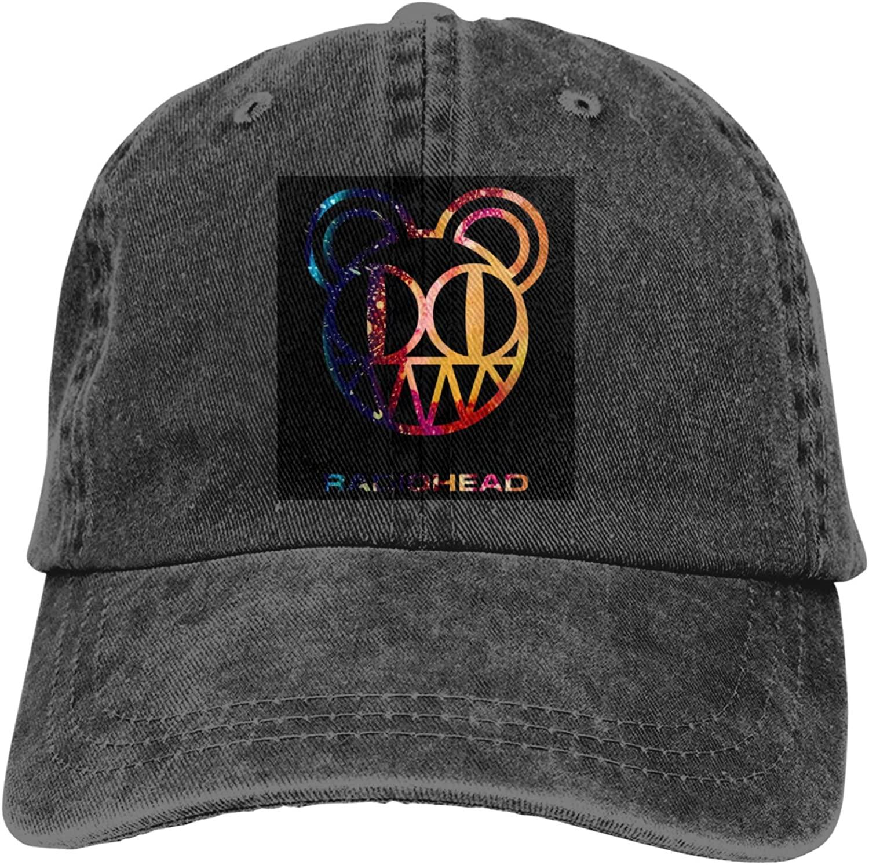 Radiohead Unisex Fashion Outdoor Baseball Cap Cowboy Cap Adjustable Sandwich Hat Casquette
