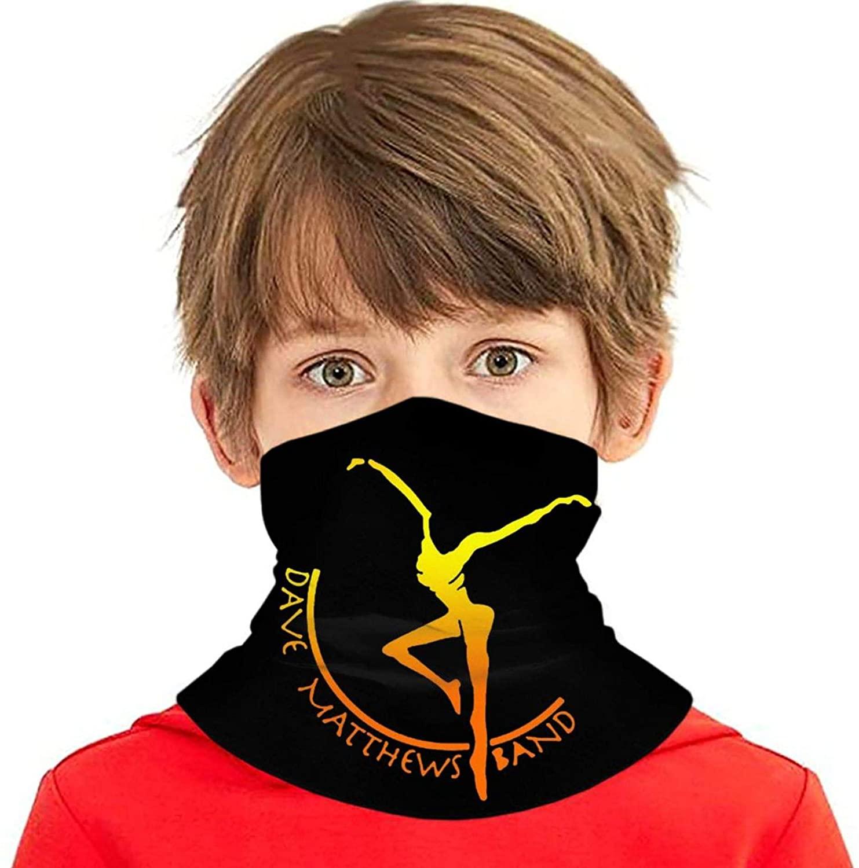 ETONKIDD Boys Girls Da-ve Matt-Hews Band Face Mask Headband Balaclava Bandana Windproof Face Cover