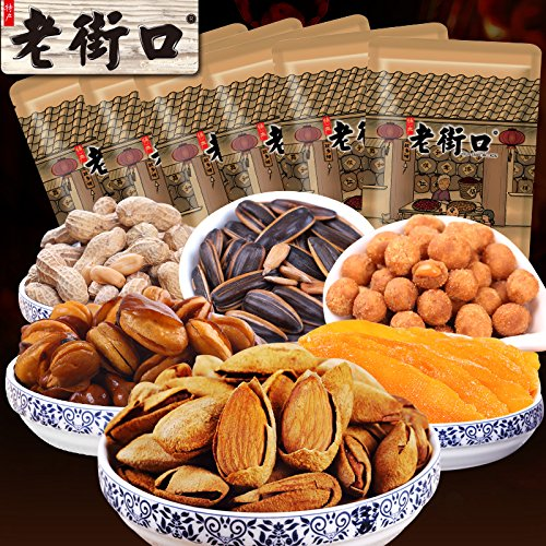 Aseus Chinese delicacies The old street - [1920g] candied nuts snacks snacks snacks specialty package roasted