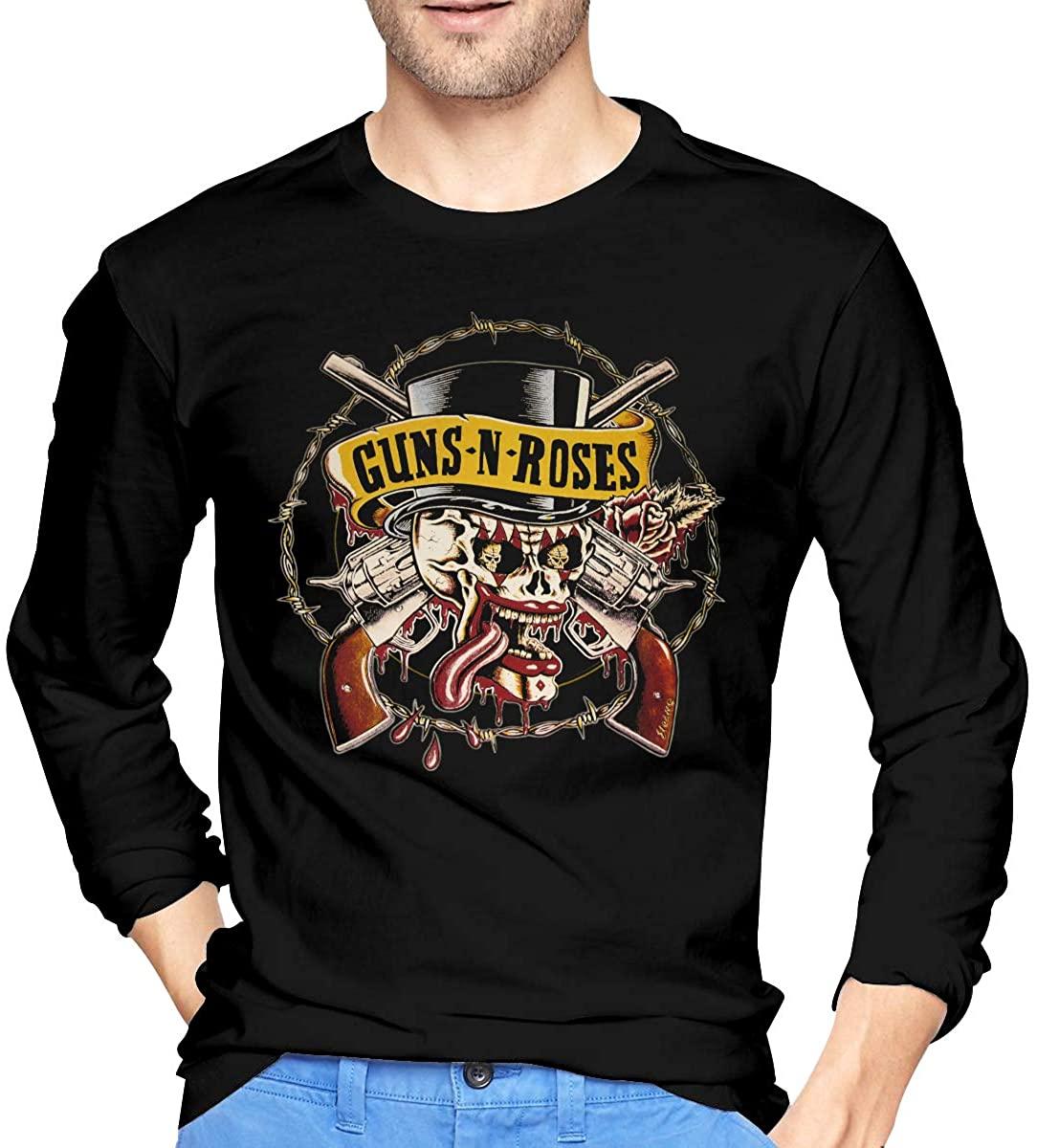 G-U-N-S N R-Os-E Men's Long Sleeve T-Shirts