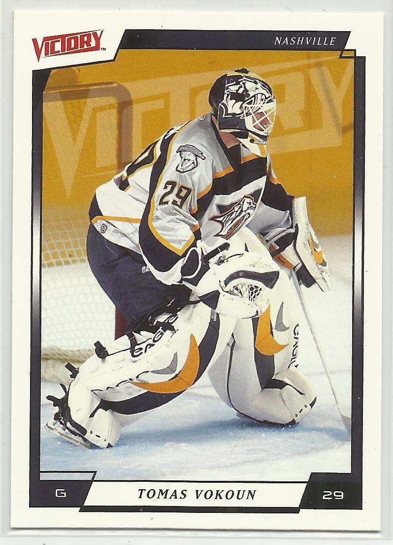 Tomas Vokoun 2006-07 Upper Deck Victory NHL Hockey Card #110 Nashville Predators