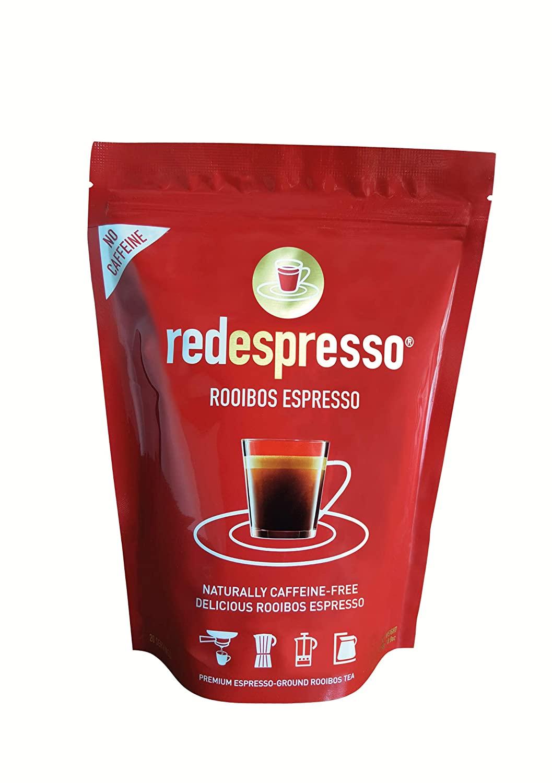 Rooibos Tea - Red Espresso - Original South African Red Tea - Ground - 8.8oz (250g)