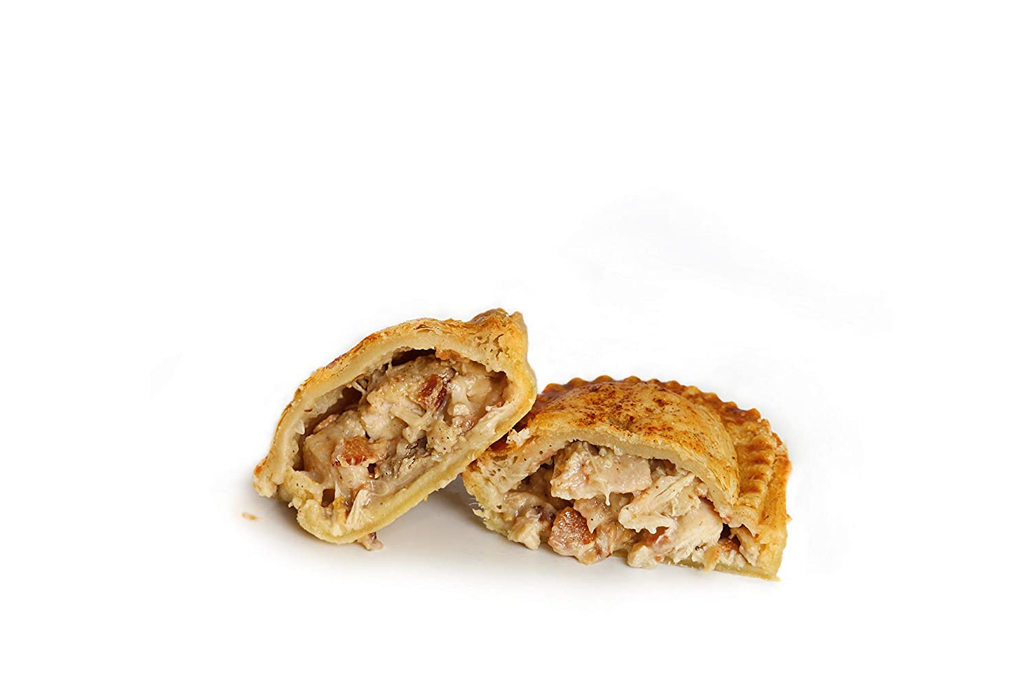 British, Australian, and South African Style Meat Pies; Ready-to-Bake Chicken and Bacon Hand Pies by Panbury's Pies