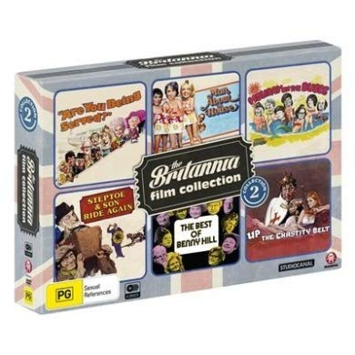 The Britannia Film Collection - 6-DVD Box Set ( Are You Being Served? / Man About the House / Holiday on the Buses / Steptoe and Son Ride Again / The [ NON-USA FORMAT, PAL, Reg.0 Import - Australia ]