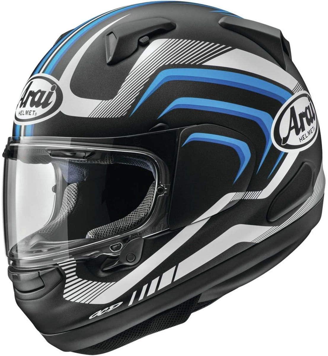 Arai Signet X Helmet - Shockwave (X-Large) (Blue Frost)