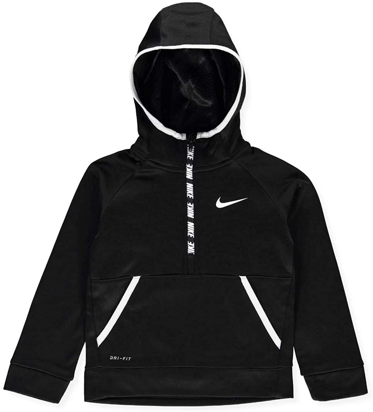 Nike Kids Boys Therma 1/2 Zip Hoodie (Little Kids)