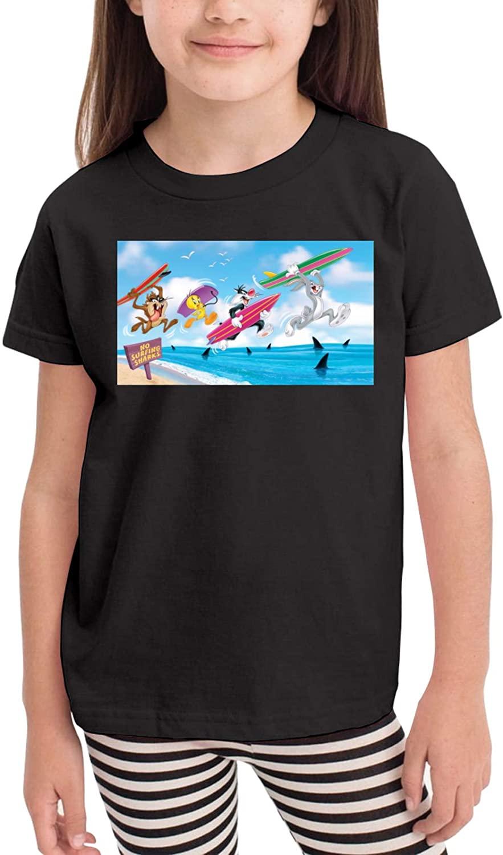 sfyvgxzfgyd Bugs BunnyBugs Bunny Short-Sleeved T-Shirt 2020 New Children's Slim Cartoon Dress (2-6 Years Old)