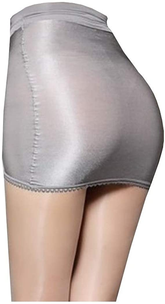 Long-Perfect Womens Super Shiny Shaping Miniskirt Oily Bright Shimmery Stockings Skirt