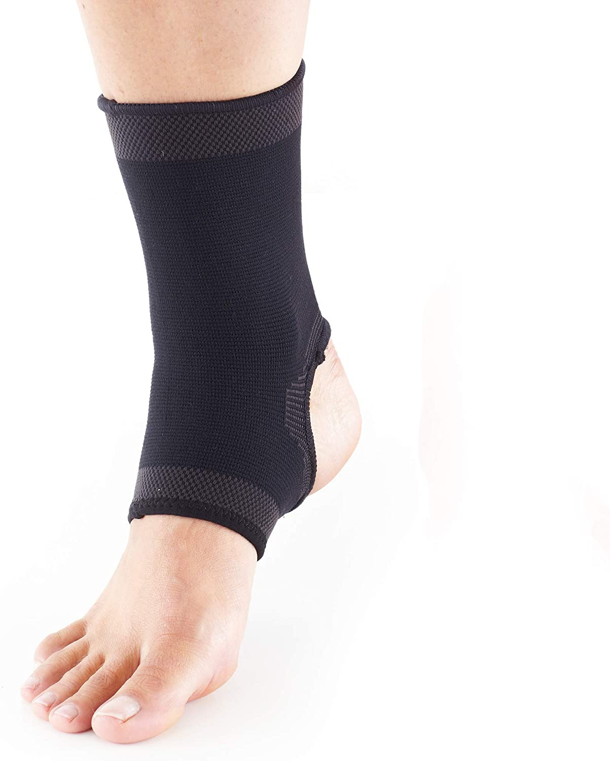 Rite Aid Ankle Brace Compression Sleeve, Size S/M - Pack of 1 | Ankle Compression Sleeve