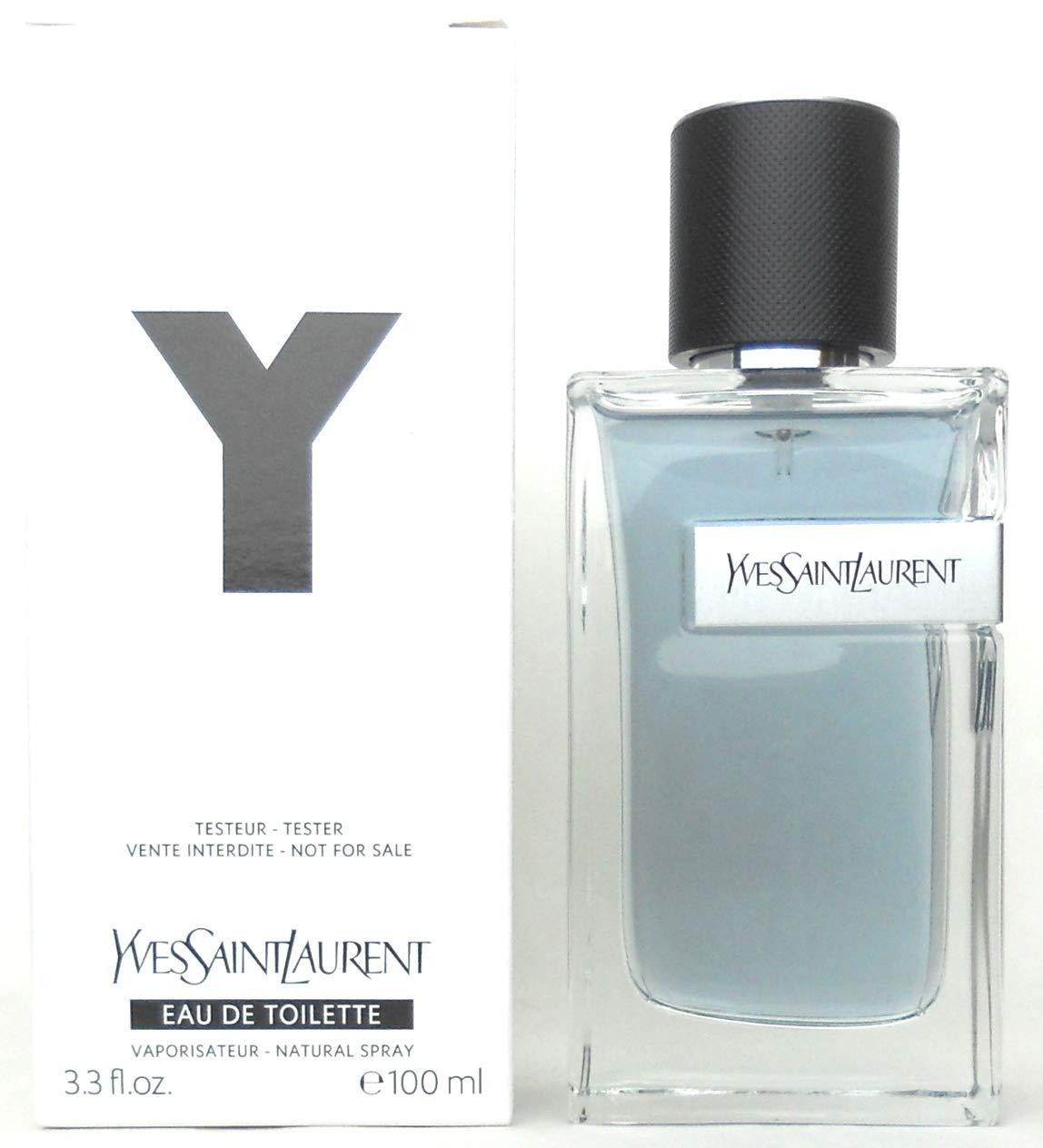 Yves Saint Laurent Y Eau De Toilette Spray For Men, 3.4 Ounce (Tester)
