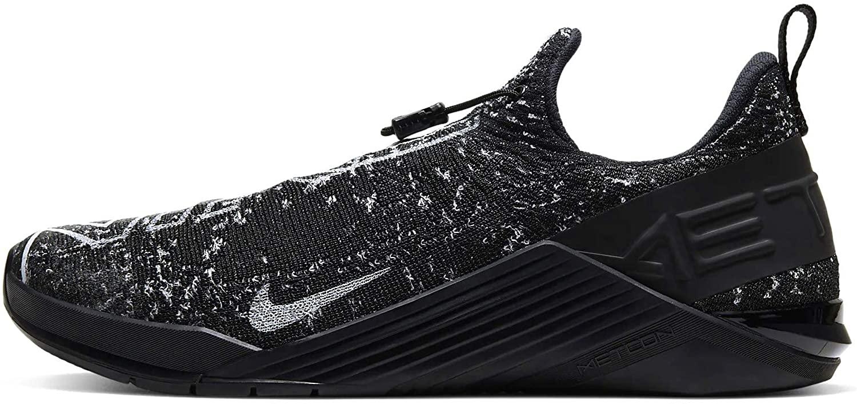 Nike Mens Training Sneaker, Black White Black, Womens 10