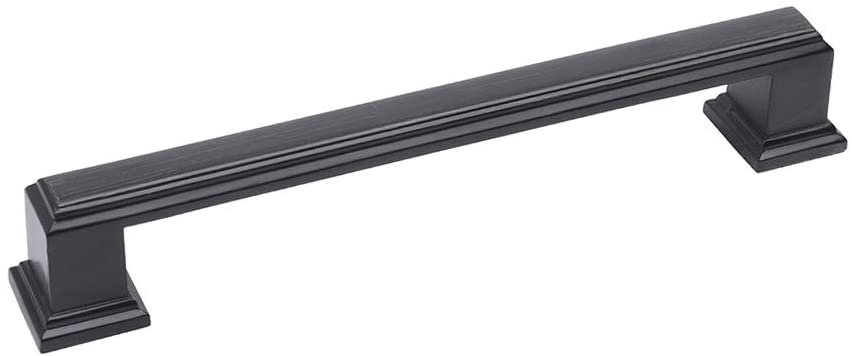 HARPOON Solid Zinc Alloy Material Drawer Pull Cabinet Handle 5 inch (128mm) (10,Oil-Rubbed Bronze)