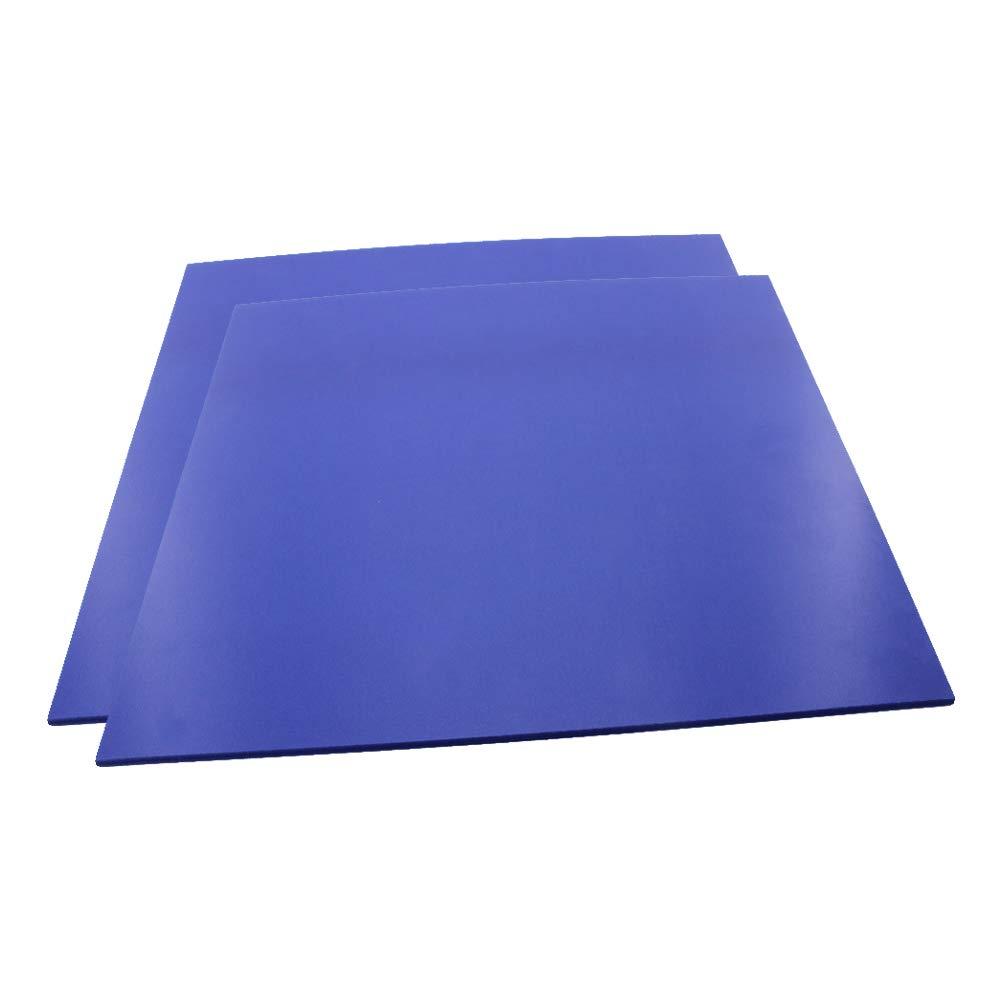 Othmro PVC Foam Board Sheet,3mm T x 30cm W x 40cm L,PVC Sheet,for Presentations,Signboards, Artsan Crafts,Framing,Display, Blue 2pcs