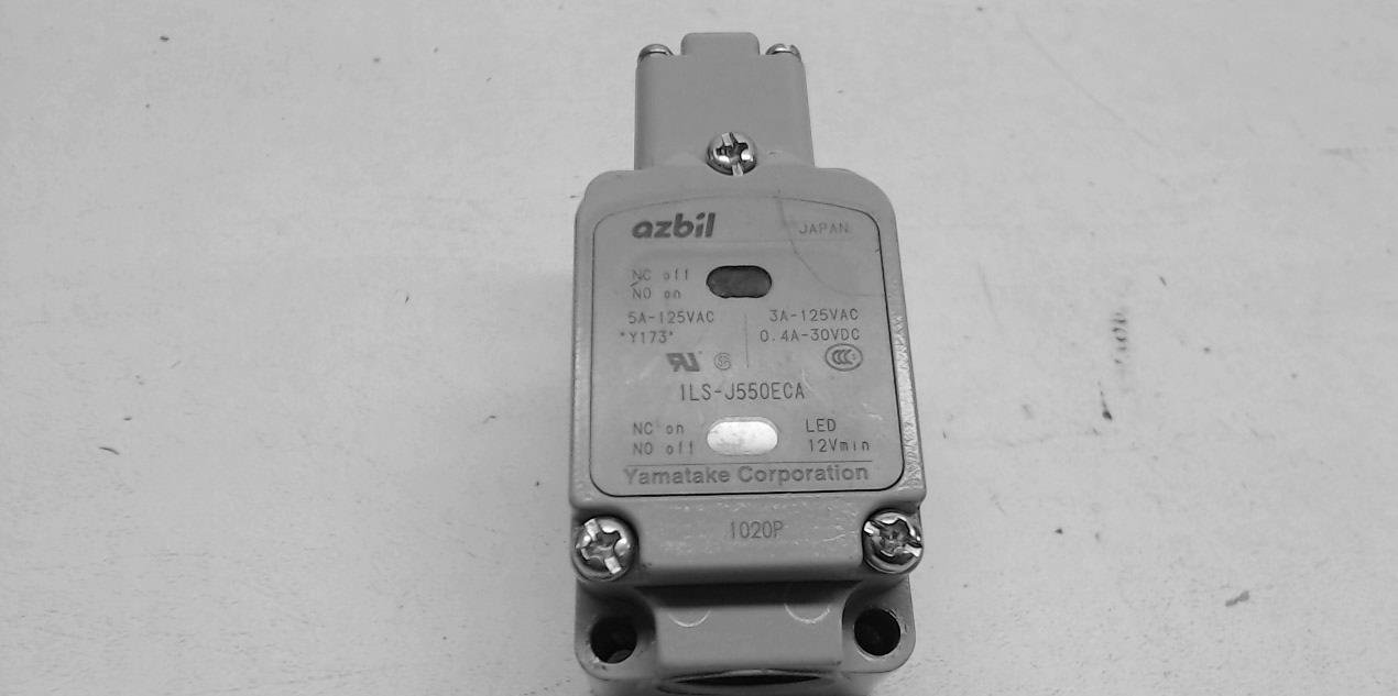 Yamatake 1Ls-J550eca Limit Switch 1Ls-J550eca